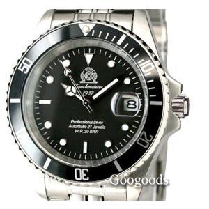 トーチマイスター Tauchmeister サブマリーナ 自動巻 正規代理店 メンズ 腕時計 ダイバーズ ダイバー時計 T0006