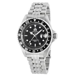 トーチマイスター Tauchmeister サブマリーナ GMT 正規代理店 メンズ 腕時計 ダイバーズ ダイバー時計 T0021