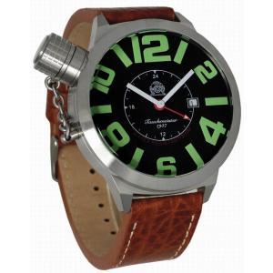 トーチマイスター Tauchmeister GMT 正規代理店 メンズ 腕時計 ダイバーズ ダイバー時計 T0065B|googoods