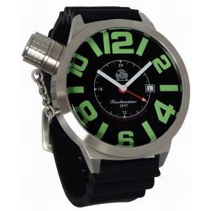 トーチマイスター Tauchmeister GMT 正規代理店 メンズ 腕時計 ダイバーズ ダイバー時計 T0065PU|googoods