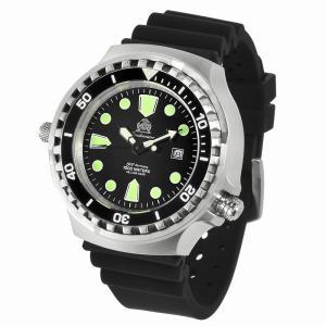 トーチマイスター Tauchmeister 自動巻 正規代理店 メンズ 腕時計 ダイバーズ ダイバー時計 T0256|googoods