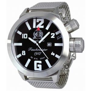 トーチマイスター Tauchmeister アラーム 正規代理店 メンズ 腕時計 ダイバーズ ダイバー時計 T0273MIL|googoods