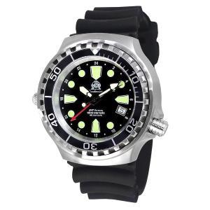 Tauchmeister トーチマイスター ダイバーズ 100ATM 正規代理店 メンズ 腕時計 ダイバーズ ダイバー時計 T0299|googoods