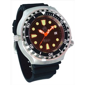 Tauchmeister トーチマイスター ダイバーズ 100ATM 正規代理店 メンズ 腕時計 ダイバーズ ダイバー時計 T0300|googoods