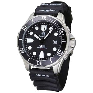 Tauchmeister 1937 トーチマイスター1937 自動巻き(手巻き機能あり) 腕時計 メンズ ダイバーズウォッチ ケース幅:43mm 品番:T0303|googoods
