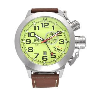 Tauchmeister 1937 トーチマイスター1937 電池式クォーツ 腕時計 メンズ ケース幅:53mm 品番:T0306|googoods