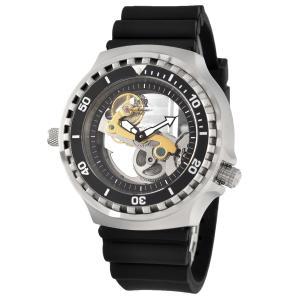 Tauchmeister 1937 トーチマイスター1937 自動巻き(手巻き機能あり) 腕時計 メンズ ケース幅:52mm 品番:T0310|googoods