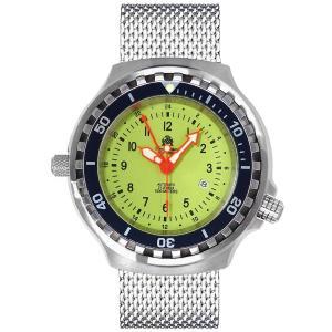 Tauchmeister 1937 トーチマイスター1937 自動巻き(手巻き機能あり) 腕時計 メンズ ケース幅:52mm 品番:T0313MIL|googoods