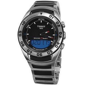TISSOT ティソ 電池式クォーツ 腕時計 メンズ  T056-420-21-051-00 ケース幅45mm googoods