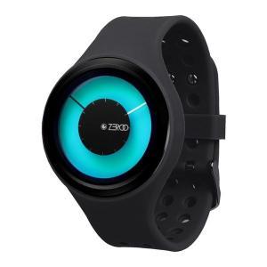 0a60bf34c5 腕時計 メンズ レディース おしゃれ カラフル ブルー ZEROO ゼロ MAGIA AURORA マギア オーロラ W00802B03SR02