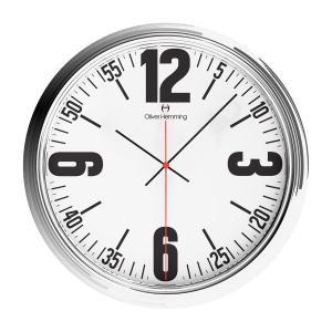壁掛け時計 掛時計 イギリスデザイン Oliver Hemming オリバー・ヘミング W460S66WTB 温度計 湿度計 おしゃれ 引越し 新築 祝い プレゼント googoods