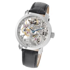 Gallucci ガルーチ イタリアブランド 手巻き 腕時計 メンズ ケース幅:43mm WT22200SK-ST|googoods