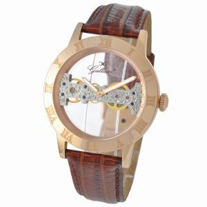 Gallucci ガルーチ イタリアブランド 手巻き 腕時計 メンズ ケース幅:44mm WT23374SK-RG|googoods