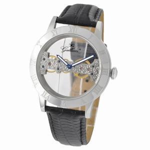 Gallucci ガルーチ イタリアブランド 手巻き 腕時計 メンズ ケース幅:44mm WT23374SK-ST|googoods