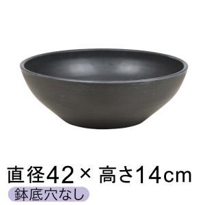 スイレン鉢 すいれん鉢 金魚鉢 めだか鉢 水草 水鉢 水生植物 ビオトープ  直径42cm 高さ14...