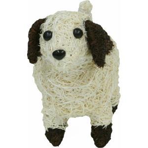 オーナメント 置物 インテリア 小物入れ かわいい 動物 犬 いぬ  全長22cm 高さ19cm 幅...