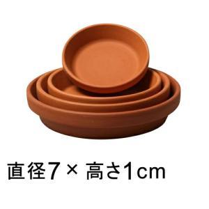 ドイツ製 テラコッタ 受皿 7cm◆適合する鉢◆底直径が5cm以下の植木鉢