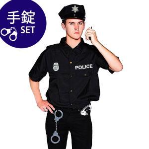 警察官 ポリス コスプレ 衣装 制服 コスチューム メンズ 男|goovice