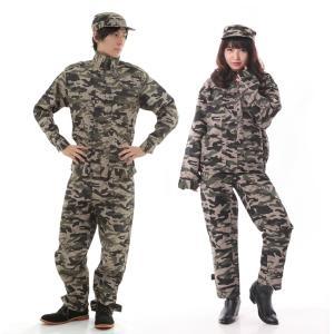 迷彩服 アーミー 軍人 コスプレ 衣装 コスチューム 長袖|goovice
