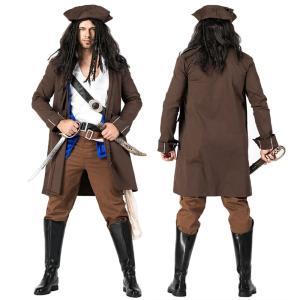 ジャック スパロウ 海賊 コスプレ 衣装 コスチューム メンズ 男性 パイレーツ オブ カリビアン 大人|goovice