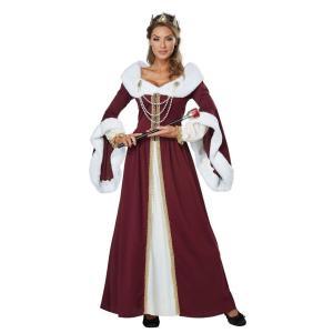 女王 コスプレ レディース 王女 ドレス コスチューム お姫様 王冠 姫 衣装 王妃 コス 仮装 メンズ goovice