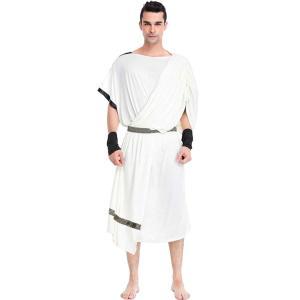 ギリシャ コスプレ メンズ ハロウィン ローマ 騎士 レディース 戦士 コスチューム 男 王 王様 衣装 神 神様 仮装 女|goovice