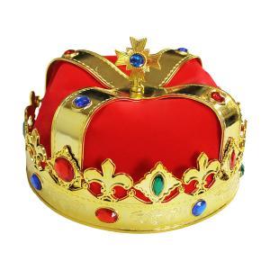 王様 王冠 王 クラウン コスプレ キング かぶりもの プリンス コスチューム ハロウィン 王子様 仮装|goovice