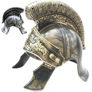 ローマ 戦士 兜 コスプレ 古代ローマ 騎士 ヘルメット 王様 王冠 キング クラウン ハロウィン 仮装 かぶりもの|goovice