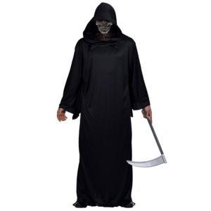 死神 コスプレ メンズ ゴースト マント コスチューム ハロウィン 仮装 死神コス 衣装 ローブ|goovice