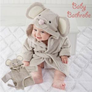 赤ちゃん バスローブ ネズミ ベビー 着ぐるみ ポンチョ ベビー 服 ハロウィン 衣装 ねずみ 干支 仮装 コスプレ goovice