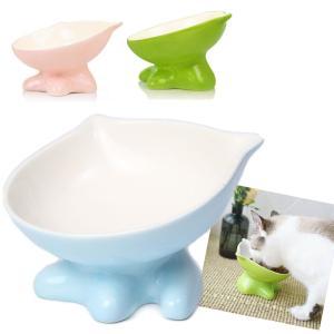 猫 食器 陶器 猫用 フード ボウル ねこ 食事 皿 ペット 餌入れ ペット用 水入れ 食べこぼし防止
