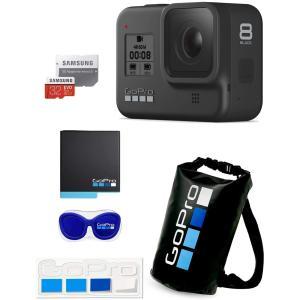【GoPro公式】GoPro HERO8 Black + 予備バッテリー+ 認定microSDカード...