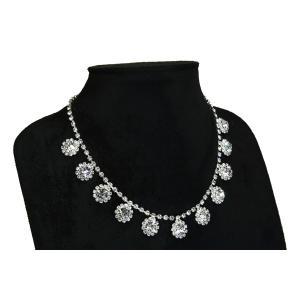 ネックレス necklace レディース 送料無料 スワロフスキー SWAROVSKI ラインストーン プレゼント|gorgeous-ya|03