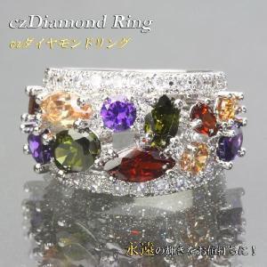 指輪 リング CZダイヤ(キュービックジルコニア)リング CZダイヤ(キュービックジルコニア)指輪 att11r-01|gorgeous-ya