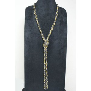 チェーンネックレス 3色 ブラック&シルバー&ゴールドカラー ロングネックレス gneck-11-88 プレゼント|gorgeous-ya