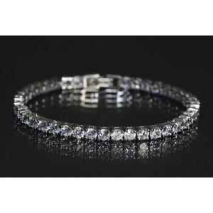 ブレスレット czダイヤモンド キュービックジルコニア ラインストーン mir11b-01|gorgeous-ya
