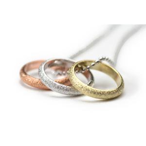 プチネックレス トリプル カラー スリム 3色 金 銀 銅 06 プレゼント|gorgeous-ya