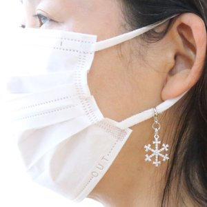 ネックレス 雪の結晶 スノー 送料無料 CZダイヤモンド キュービックジルコニア プレゼント|gorgeous-ya