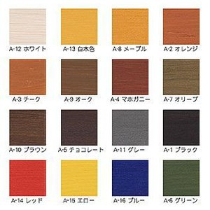 木材保護着色剤 ガードラックアクア 14kg 【送料無料】|goro