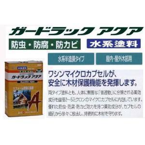 木材保護着色剤 ガードラックアクア 14kg 【送料無料】|goro|03