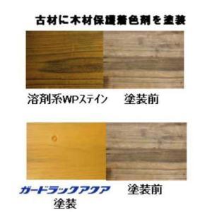 木材保護着色剤 ガードラックアクア 14kg 【送料無料】|goro|04