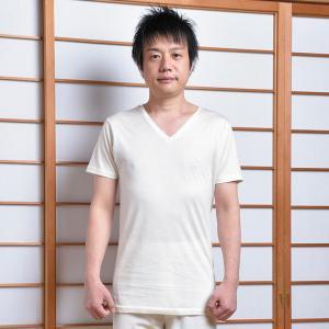肌着 下着 襦袢 メンズ 男性用 紳士 春夏用 洗える [絹 肌着 (M-LL)] 敬老の日 父の日 プレゼント|gosaido
