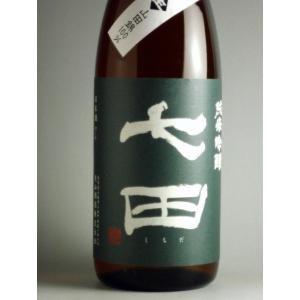 七田 純米吟醸無濾過生原酒1800ml[30BY][クール便]|gosenya