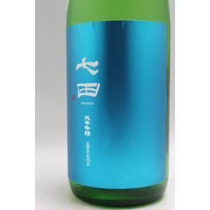 七田 純米吟醸 五百万石50無濾過生原酒1800ml[30BY][クール便]|gosenya