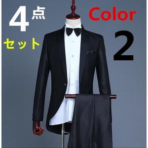超本格タキシードセットなのにお手ごろ価格がうれしい。 セット内容 スーツ/ズボン/蝶タイ/カマーベル...