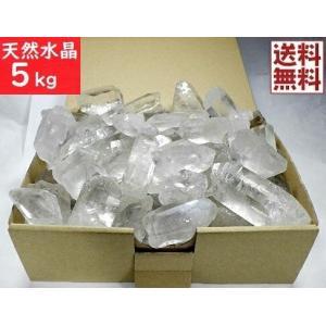 【卸・業務用 箱売り】天然水晶原石 5kg量り売り ナチュラ...