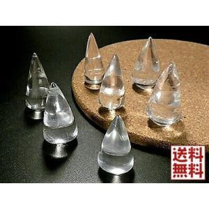 天然水晶 円すい形 クォーツポイント crystal Qua...