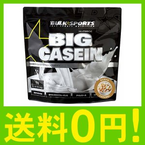 バルクスポーツ プロテイン ビッグカゼイン 1kg キャラメル【カゼインプロテイン】