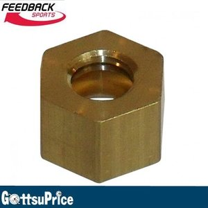FEEDBACK SPORTS フィードバック スポーツ Nut Stop BRS Lead screw Brass 13786|gottsu