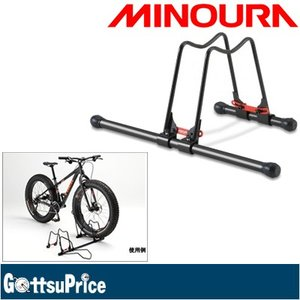 MINOURA(ミノウラ) DS-150F コネクトラック(ファットバイク用) 連結式自転車スタンド|gottsu